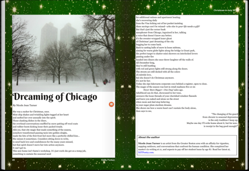 Dreaming of Chicago - click through to magazine